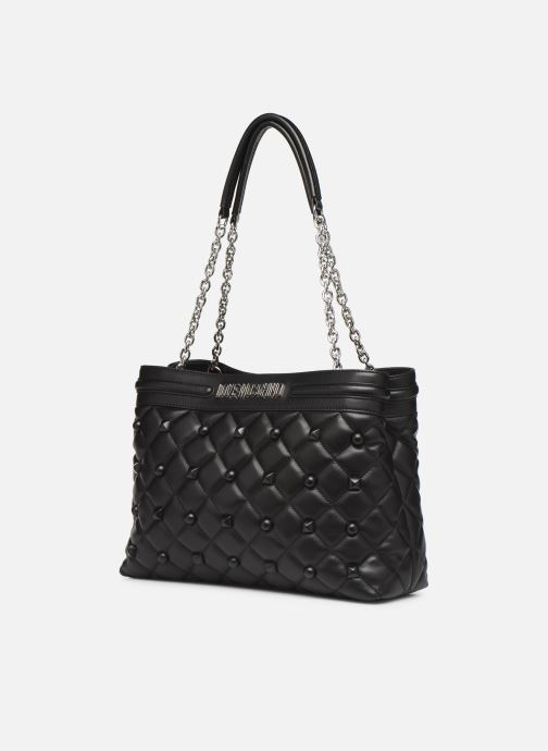Handtassen Love Moschino QUILTED LOVE MOSCHINO SATCHEL Zwart model
