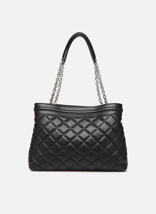 Handtaschen Love Moschino QUILTED LOVE MOSCHINO SATCHEL schwarz ansicht von vorne