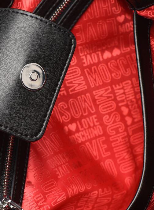 Handtaschen Love Moschino QUILTED LOVE MOSCHINO SATCHEL schwarz ansicht von hinten