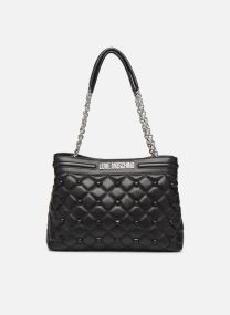 QUILTED LOVE MOSCHINO SATCHEL