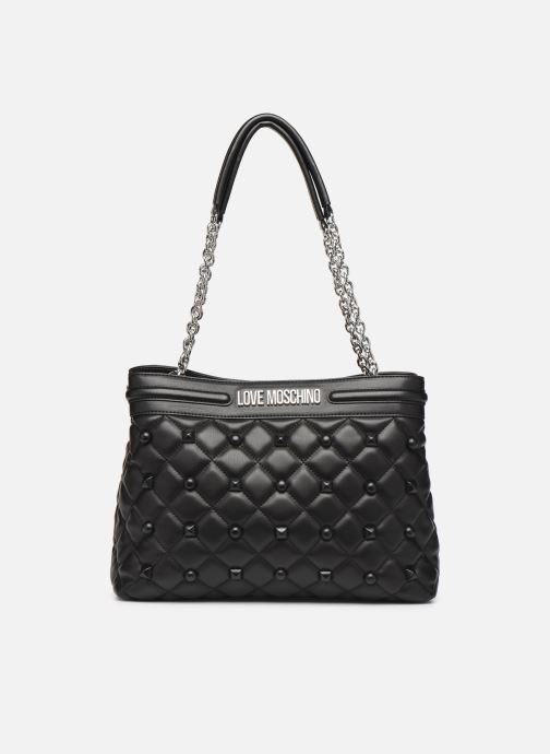 Handtaschen Love Moschino QUILTED LOVE MOSCHINO SATCHEL schwarz detaillierte ansicht/modell
