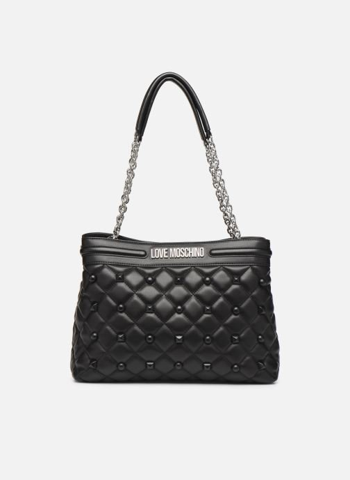 Handtassen Love Moschino QUILTED LOVE MOSCHINO SATCHEL Zwart detail