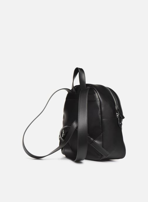 Sacs à dos Love Moschino QUILTED LOVE MOSCHINO BACKPACK Noir vue droite