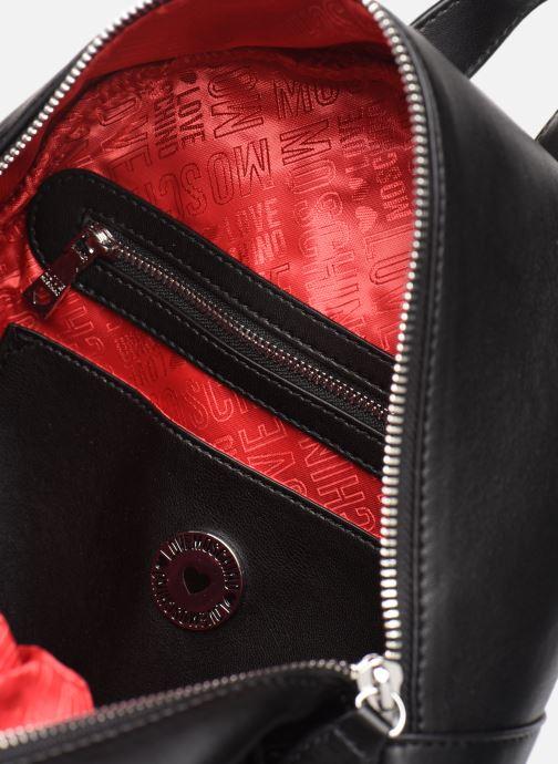 Rucksäcke Love Moschino QUILTED LOVE MOSCHINO BACKPACK schwarz ansicht von hinten