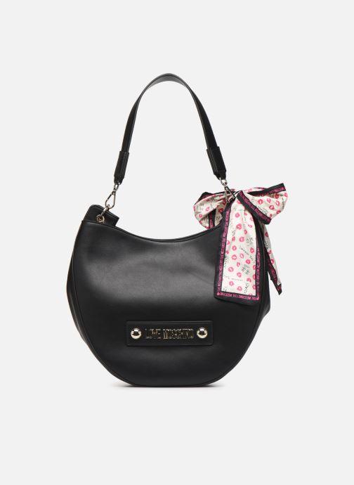 Handtaschen Love Moschino LETTERING LOVE MOSCHINO HOBO schwarz detaillierte ansicht/modell