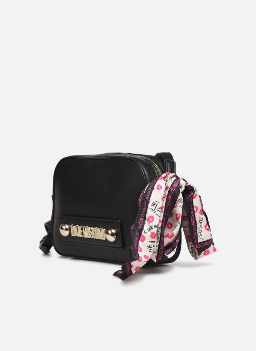 Handtaschen Love Moschino LETTERING LOVE MOSCHINO CROSSBODY schwarz schuhe getragen