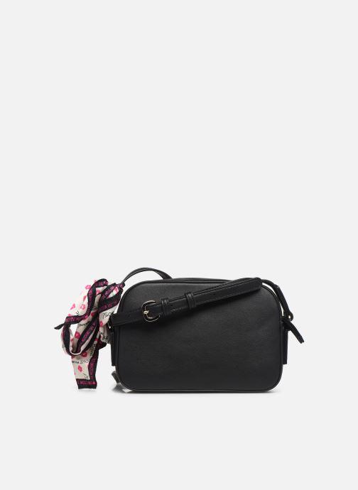 Handtaschen Love Moschino LETTERING LOVE MOSCHINO CROSSBODY schwarz ansicht von vorne