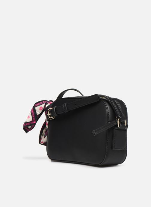 Handtaschen Love Moschino LETTERING LOVE MOSCHINO CROSSBODY schwarz ansicht von rechts