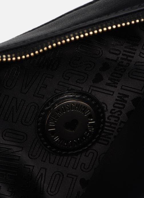 Handtaschen Love Moschino LETTERING LOVE MOSCHINO CROSSBODY schwarz ansicht von hinten