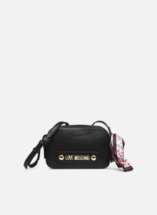 Handtaschen Love Moschino LETTERING LOVE MOSCHINO CROSSBODY schwarz detaillierte ansicht/modell