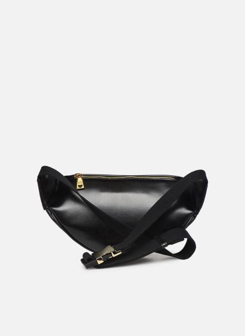 Portemonnaies & Clutches Love Moschino NEW SHINY QUILTED WAISTBAG schwarz ansicht von vorne