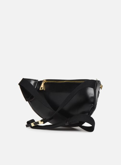 Wallets & cases Love Moschino NEW SHINY QUILTED WAISTBAG Black view from the right