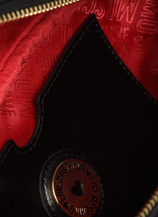 Portemonnaies & Clutches Love Moschino NEW SHINY QUILTED WAISTBAG schwarz ansicht von hinten