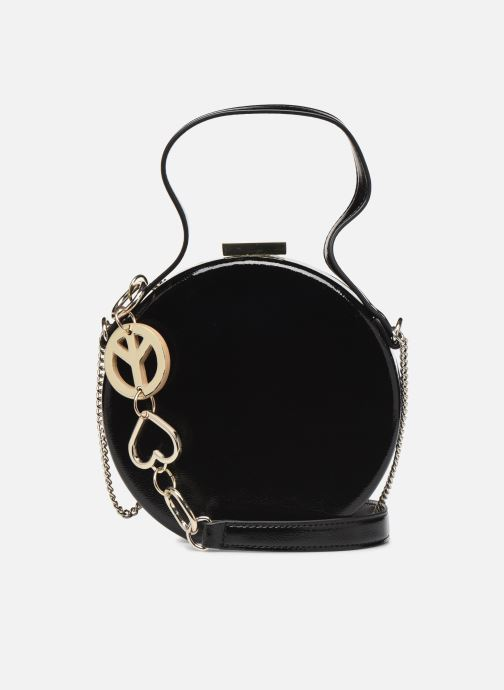 Handbags Love Moschino PEACE LOVE & STARS CROSSBODY Black front view