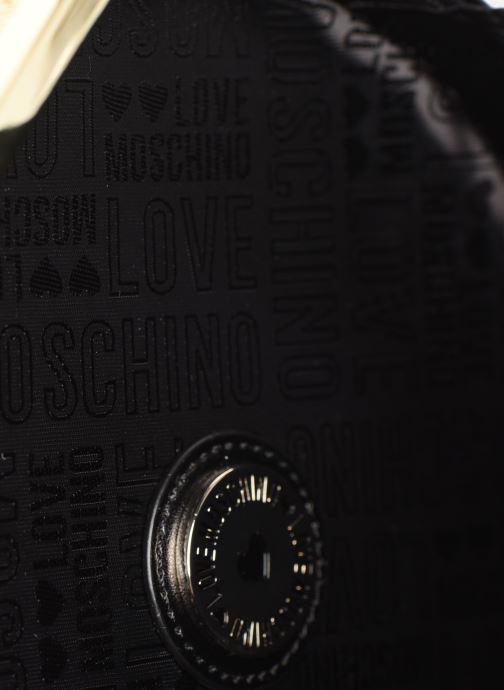 Handtaschen Love Moschino PEACE LOVE & STARS CROSSBODY schwarz ansicht von hinten