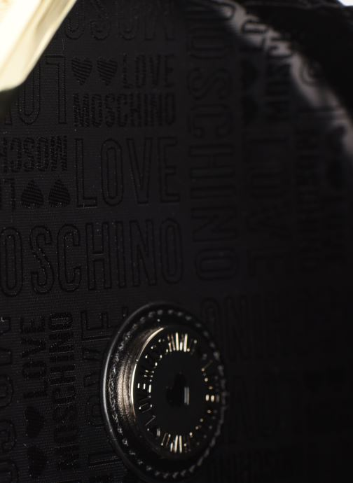 Sacs à main Love Moschino PEACE LOVE & STARS CROSSBODY Noir vue derrière