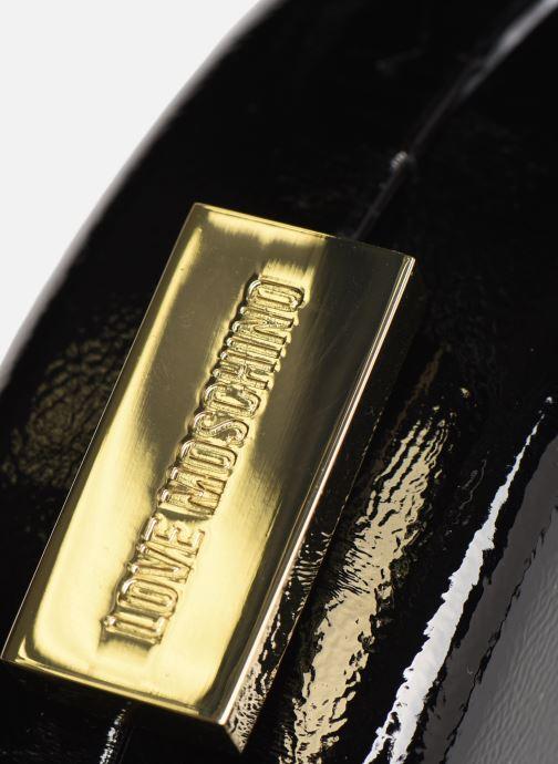 Handtaschen Love Moschino PEACE LOVE & STARS CROSSBODY schwarz ansicht von links
