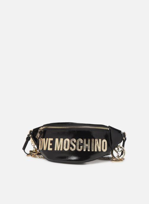 Handtassen Love Moschino PEACE LOVE & STARS WAIST BAG Zwart model