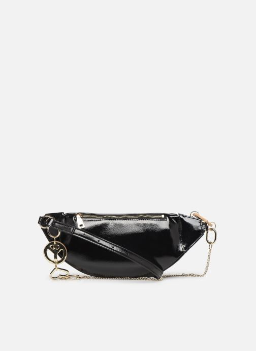Wallets & cases Love Moschino PEACE LOVE & STARS WAIST BAG Black front view