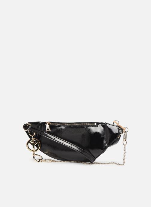 Portemonnaies & Clutches Love Moschino PEACE LOVE & STARS WAIST BAG schwarz ansicht von rechts