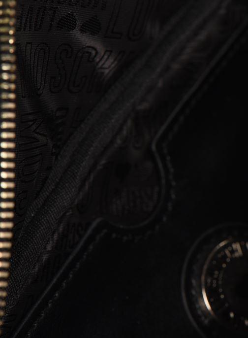Handtassen Love Moschino PEACE LOVE & STARS WAIST BAG Zwart achterkant