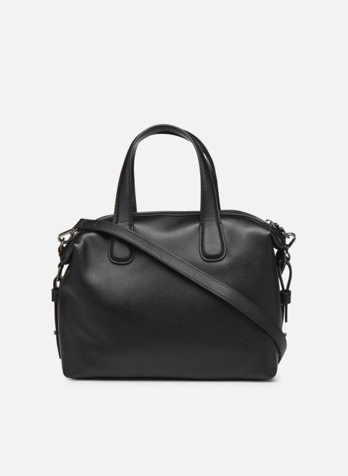Handbags Love Moschino EASY CHAIN EASY GO SATCHEL Black front view