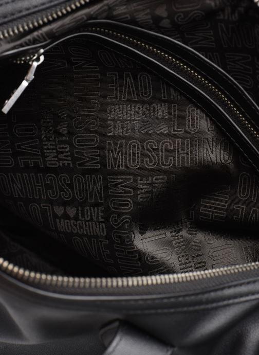 Handbags Love Moschino EASY CHAIN EASY GO SATCHEL Black back view