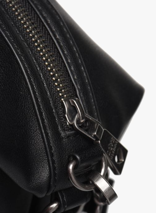 Handbags Love Moschino EASY CHAIN EASY GO SATCHEL Black view from the left
