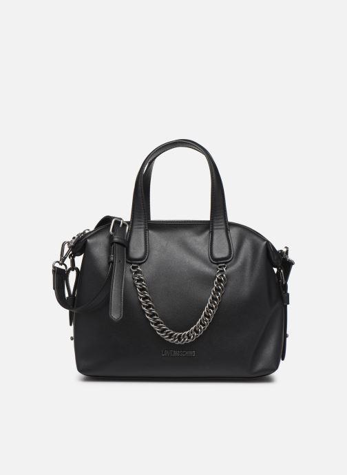 Handbags Love Moschino EASY CHAIN EASY GO SATCHEL Black detailed view/ Pair view