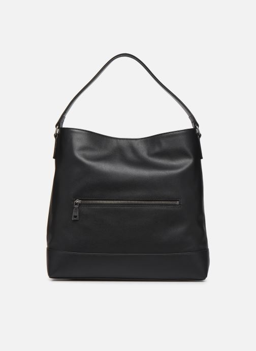 Handbags Love Moschino EASY CHAIN EASY GO HOBO Black front view