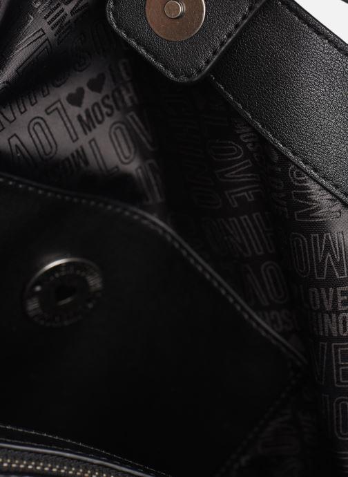 Handbags Love Moschino EASY CHAIN EASY GO HOBO Black back view