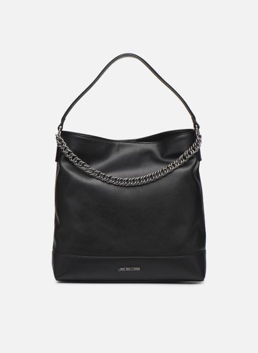 Handbags Love Moschino EASY CHAIN EASY GO HOBO Black detailed view/ Pair view