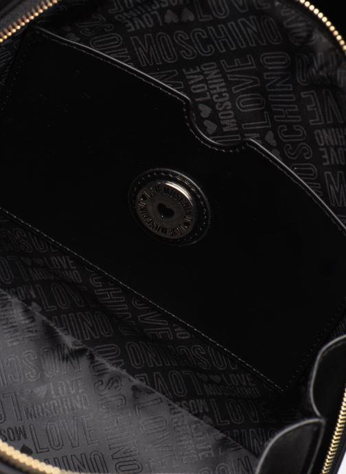 Handbags Love Moschino NEW FUN JACQUARD Bronze and Gold back view