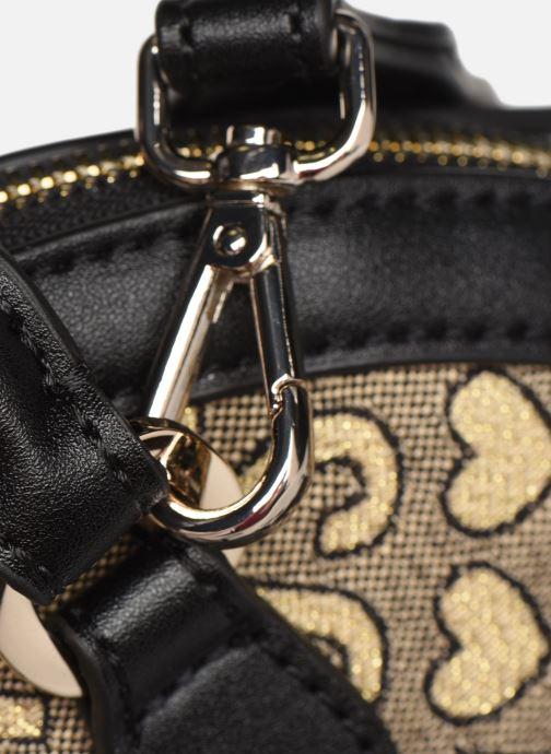 Handtaschen Love Moschino NEW FUN JACQUARD gold/bronze ansicht von links