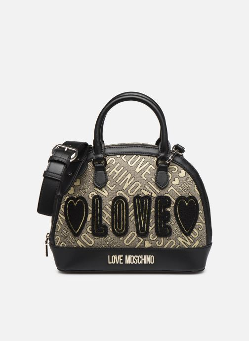 Sacs à main Love Moschino NEW FUN JACQUARD Or et bronze vue détail/paire