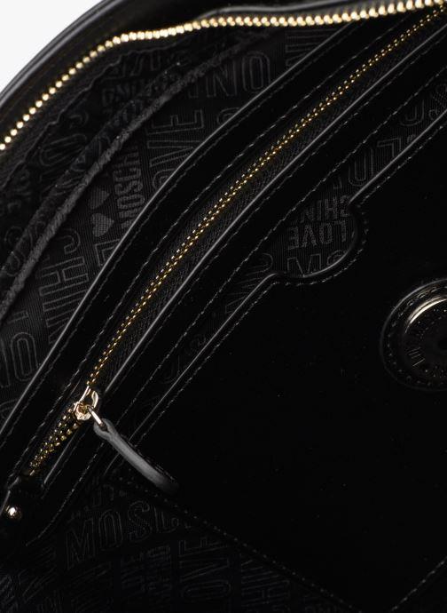 Handtassen Love Moschino NEW FUN JACQUARD CABAS Goud en brons achterkant