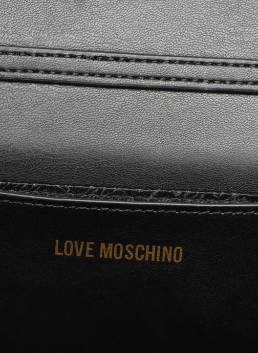 Sacs à main Love Moschino EVENING BAG VELVET Noir vue derrière