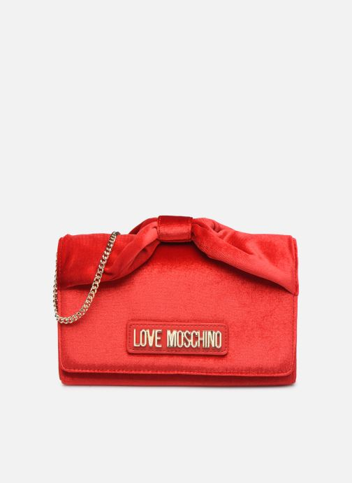 Sacs à main Love Moschino EVENING BAG VELVET Rouge vue détail/paire