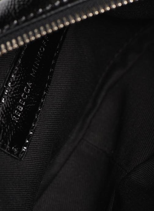 Handtassen Rebecca Minkoff CAMERA BELT BAG NAPLACK Zwart achterkant