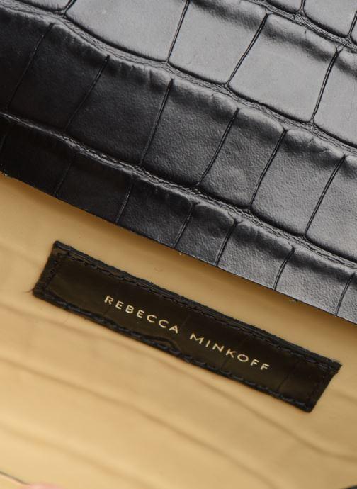 Handtaschen Rebecca Minkoff MAB FLAP CROSSBODY CROCCO schwarz ansicht von hinten