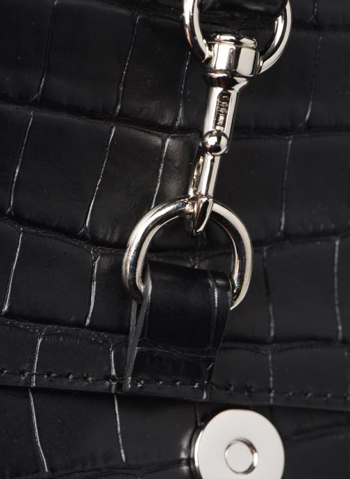 Handtaschen Rebecca Minkoff MAB FLAP CROSSBODY CROCCO schwarz ansicht von links