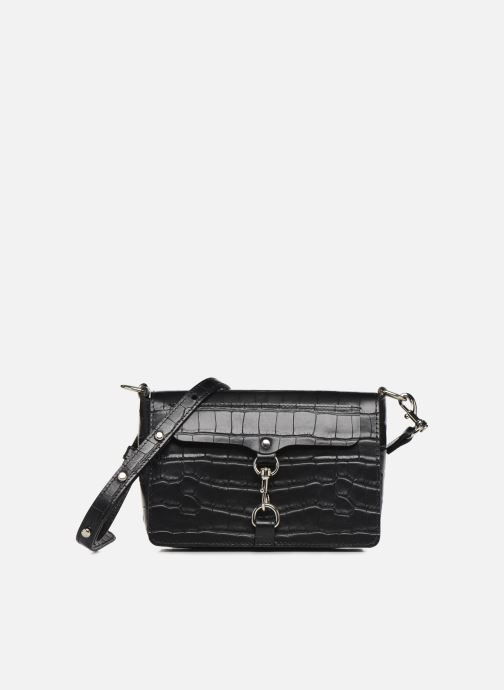 Handbags Rebecca Minkoff MAB FLAP CROSSBODY CROCCO Black detailed view/ Pair view