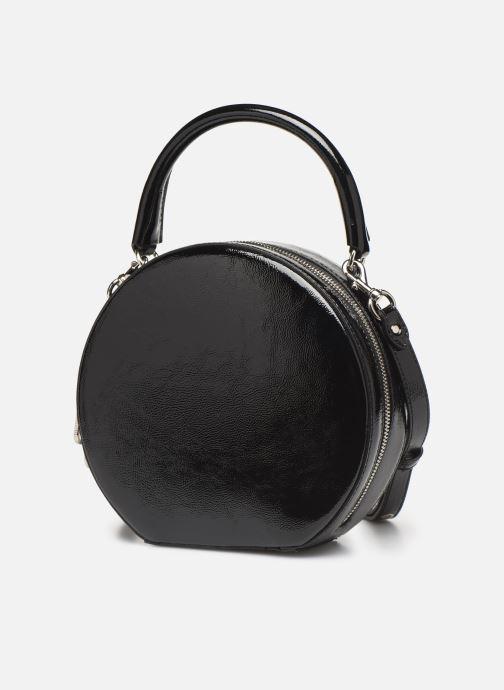 Sacs à main Rebecca Minkoff CIRCLE BAG CROSSBODY NAPLACK Noir vue portées chaussures