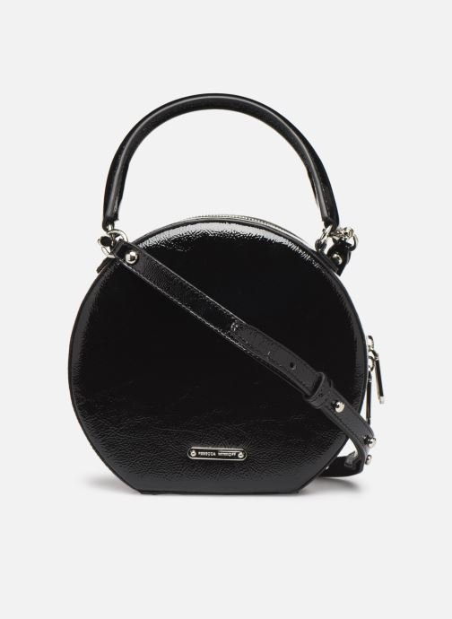 Sacs à main Rebecca Minkoff CIRCLE BAG CROSSBODY NAPLACK Noir vue face