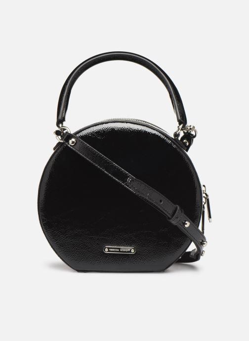Bolsos de mano Rebecca Minkoff CIRCLE BAG CROSSBODY NAPLACK Negro vista de frente