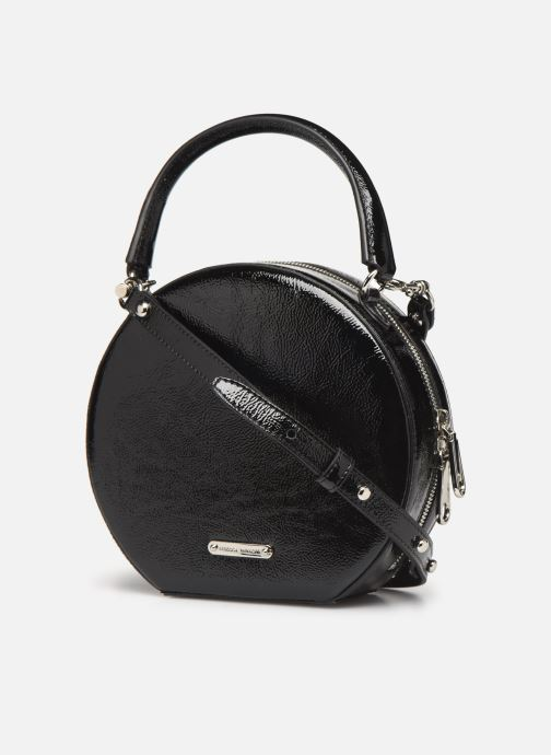 Sacs à main Rebecca Minkoff CIRCLE BAG CROSSBODY NAPLACK Noir vue droite