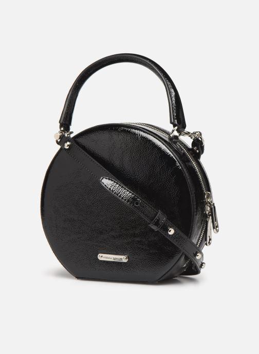 Bolsos de mano Rebecca Minkoff CIRCLE BAG CROSSBODY NAPLACK Negro vista lateral derecha