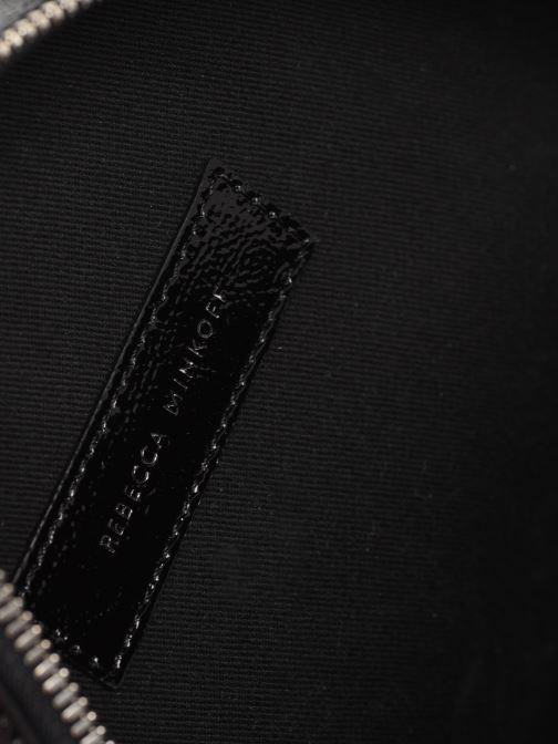 Handbags Rebecca Minkoff CIRCLE BAG CROSSBODY NAPLACK Black back view