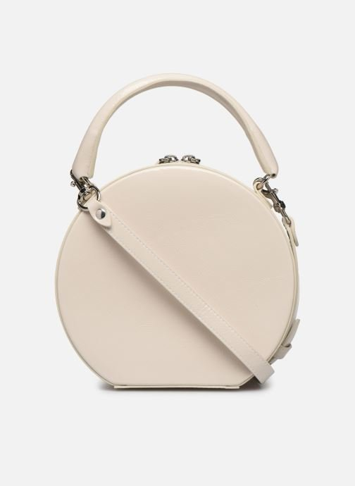 Sacs à main Rebecca Minkoff CIRCLE BAG CROSSBODY NAPLACK Blanc vue face