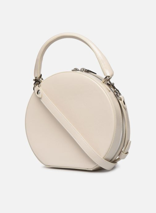 Sacs à main Rebecca Minkoff CIRCLE BAG CROSSBODY NAPLACK Blanc vue droite